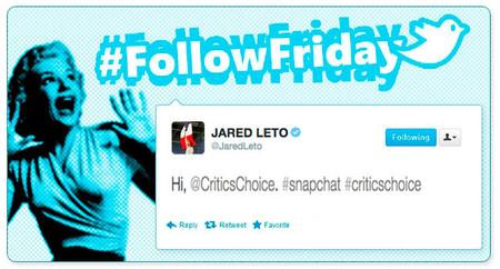 #FollowFriday de Poprosa: cómo se lo pasaron los famosos en los Critics' Choice Awards