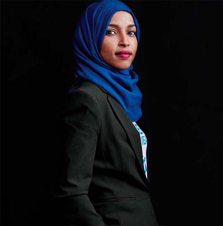 Ilhan Omar Congresista Eeuu Mujeres Que Hacen Historia