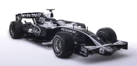 Williams desvela su decoración definitiva para 2008