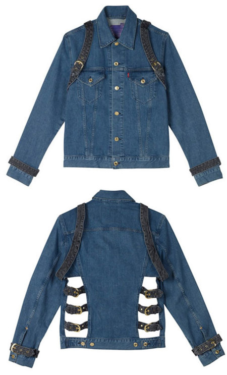House of Holland Levis Jacket