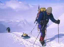 Diario de la expedición que alcanzó la cima de la Antártida