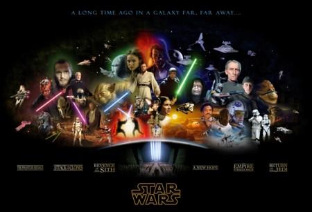 Las dos trilogías de Star Wars de George Lucas