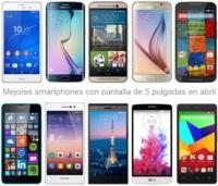Las 5 pulgadas como referencia en smartphones: así son los mejores modelos y sus precios