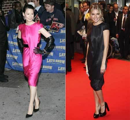Vestido de Alexander McQueen: ¿Sienna o Lucy?