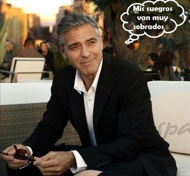 Pues la boda de George Clooney la pagan los papis de la novia