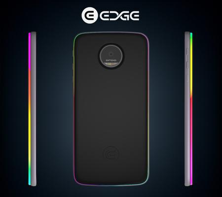 Edge, el Moto Mod que añade llamativas notificaciones LED al Moto Z