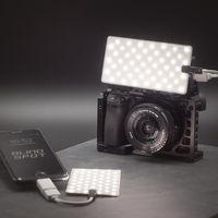 Crack Light, un panel LED muy ligero, flexible, impermeable y con alimentación USB para cámaras o móviles