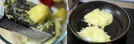 Hacer rösti de cebolla