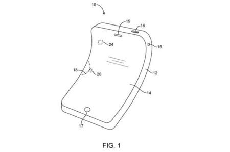 Apple ya tiene la patente que apunta a futuros iPhones con pantalla curva
