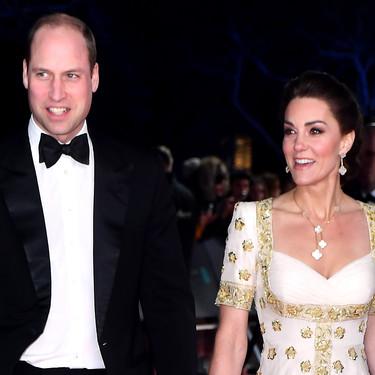 Kate Middleton repite look en la alfombra roja de los Bafta 2020