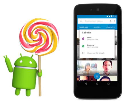 Google hace oficial Android 5.1, estas son sus novedades