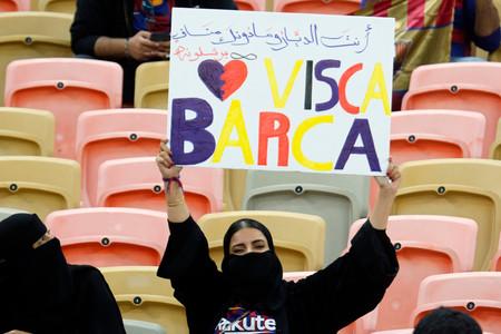 Mujer Saudi Barcelona