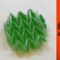 Este nuevo material material cambia de forma gracias a estímulos de luz y temperatura