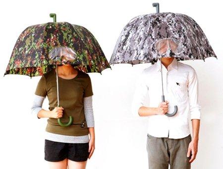 Camuflaje paraguas