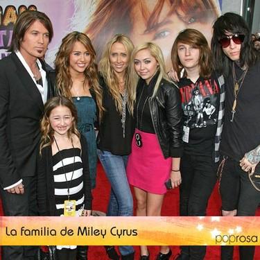 Familias Peculiares: La de Miley Cyrus