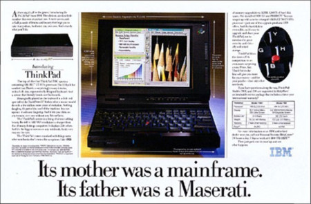 IBM Thinkpad Ad 1