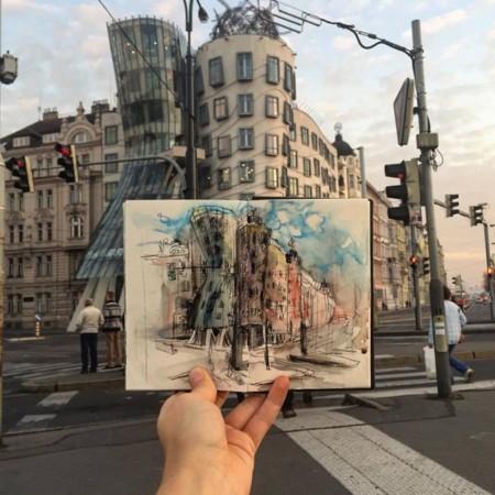 """""""El mejor archivo fotográfico es aquel que fabricas con tus manos a través de dibujos"""""""