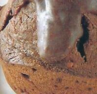 Muffins de chocolate con avellanas