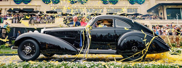 Un Mercedes-Benz 540K Autobahn Kurier con matrícula española ha ganado el Concurso de Elegancia de Pebble Beach, y esta es su historia