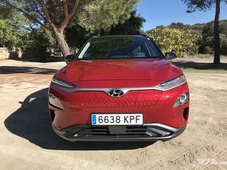 Hyundai Kona Eléctrico frontal