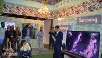 Samsung muestra en Casa Decor sus televisores curvos
