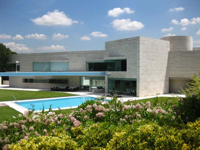 Mi visita a la primera gran casa de joaqu n torres for Casa de arquitecto moderno