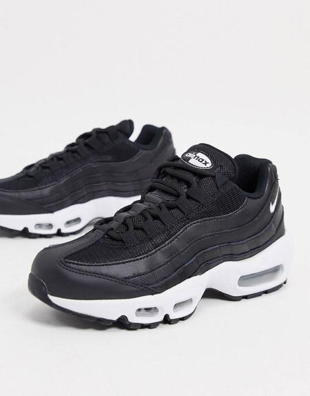 Zapatillas Negras Air Max 95 De Nike