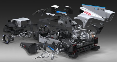 Nissan ZEOD RC por dentro