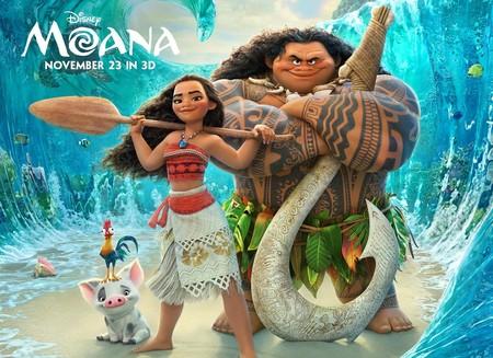Taquilla USA | Disney triunfa con Vaiana (Moana), Zemeckis y Beatty fracasan