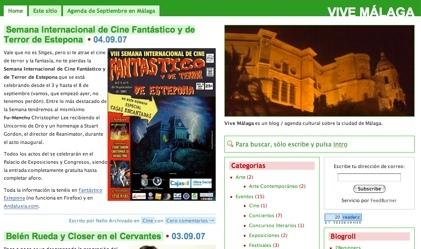 Nuevo blog: Vive Málaga