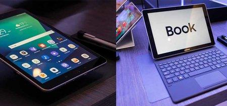 Samsung Galaxy Tab S3 y Galaxy Book, primeras impresiones: un tú a tú a la Surface, un puntero estrella y... Un tablet