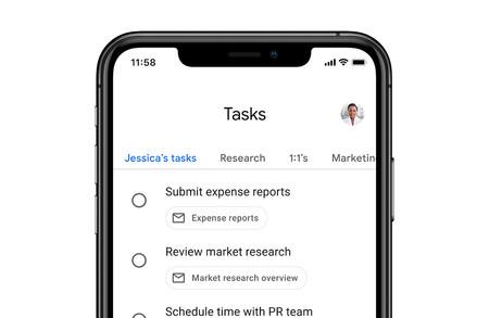 Google Tasks para Android actualiza su interfaz para que sea más fácil cambiar entre listas de tareas