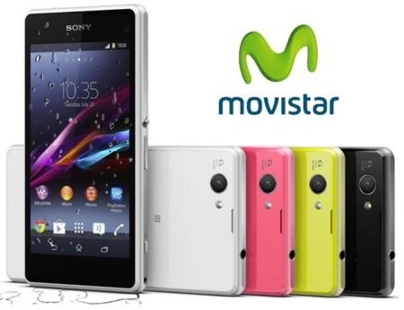 Precios Sony Xperia Z1 Compact con Movistar y comparativa con Orange, Yoigo y Amena