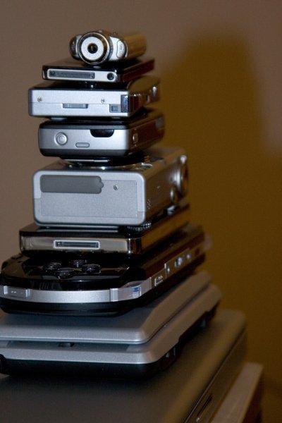 Imagen de la semana: <em>gadgets</em> apilados y comunes