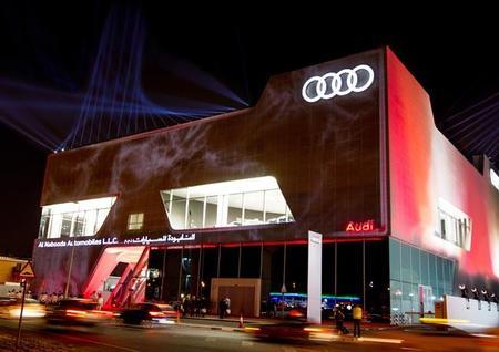 Audi en Dubai, más grande imposible