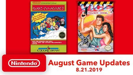 Vice: Project Doom y Kung-Fu Heroes son los nuevos clásicos de NES que se unirán a Nintendo Switch Online en agosto