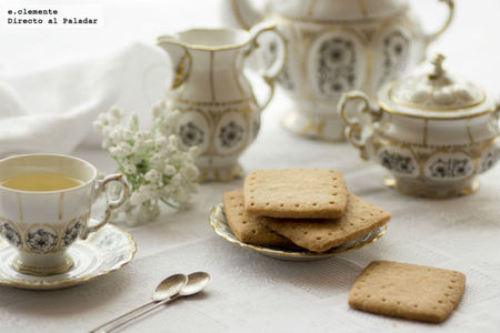 Shortbread cookies. Receta