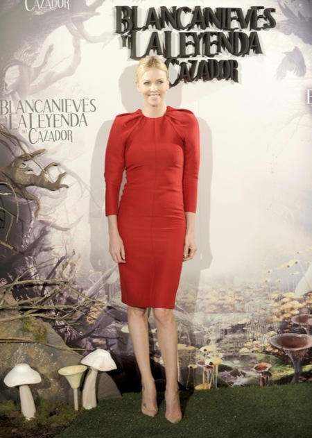 Charlize Theron Madrid Blancanieves 2012