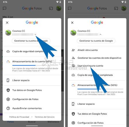 Google Fotos Sin Cuenta