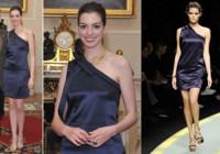 Otro look de Anne Hathaway en Venecia