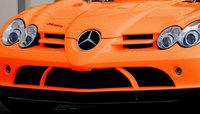 Oranje Brabus Mercedes McLaren SLR Roadster