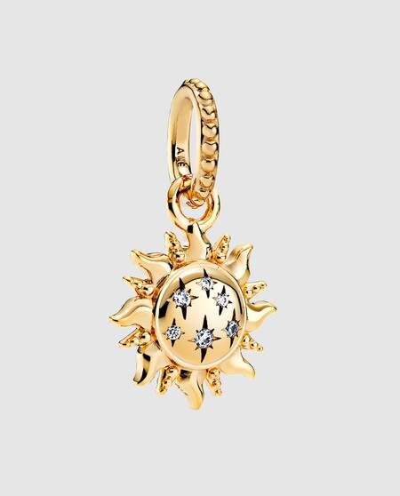 Charm Colgante Pandora Shine Sol Brillante Con Circonitas