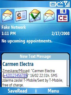 Muestra tus SMS con Windows Mobile para smartphones