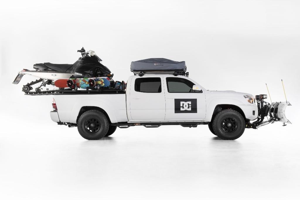 Toyota Com Tacoma >> Snow Ready DC Shoes Toyota Tacoma (9/15)