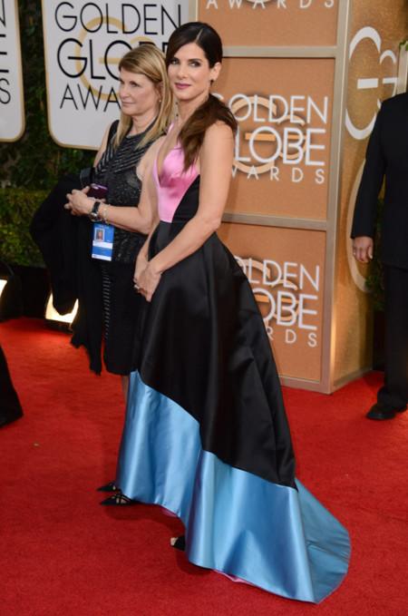 Descuido Sandra Bullock Globos de Oro 2014