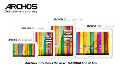 Archos nos presenta su familia de tablets Titanium