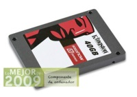 Kingston SSDNow V Series, mejor componente de ordenador de 2009