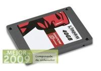Kingston SSDNow V Series, mejor componente de ordenador de 2009