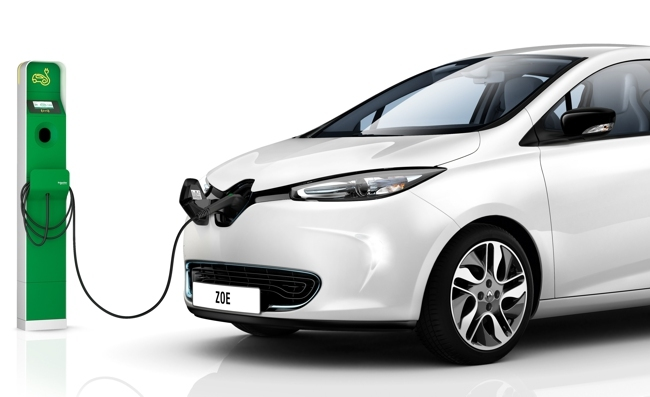 Renault Poste de recarga rápida Camaleón