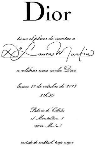Madrid se rinde ante Dior, detalles de su fiesta